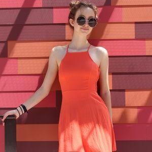 Cami Side-Zip Dress